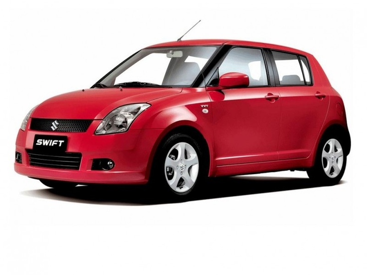 Suzuki Swift. Love my red car.
