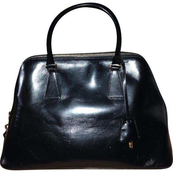 Prada Pre-owned - Black Leather Handbag EZkhSexO