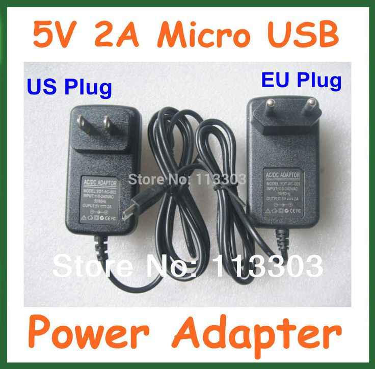 2pcs 5V 2A Micro USB Charger Power Adapter Supply for mini PC Vensmile IPC002 for Tablet PC chuwi vi10 Lenovo A3000 B8000 Miix2