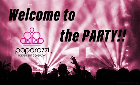 welcome to the Paparazzi jewelry party