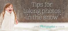 Tonnenweise tolle Tipps für die Schneefotografie bei The Photographer Within