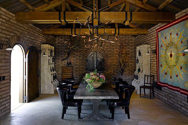 Stunning Dining Room design by Ken Fulk, Top Interior Designer 2017