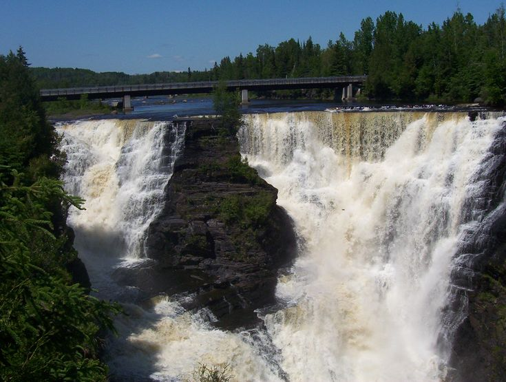 Kakabeka Falls, Thunder Bay, Ontario, Canada-I've personally never been here, but some day want to go, my Dad is from Thunder Bay Canada and this is one of his favorite places