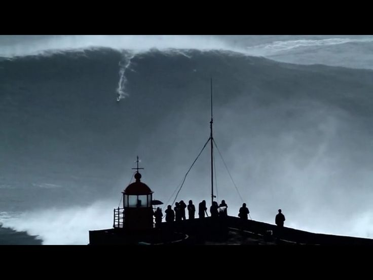 #nazare #portugal today 28thoct 2013 when all of Northern Europes big wave #surfing spots went off!