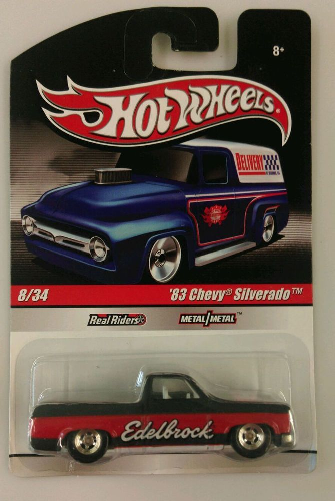 Hot Wheels '83 Chevy Silverado - Delivery Truck Series -#8 Real Riders