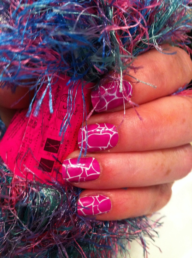 Purple Giraffe Jamberry Nails!.. oh gosh i really love it