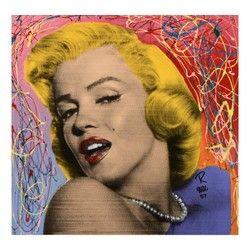 "Ringo - (Protege of Andy Warhol's Apprentice - Steve Kaufman) - ""Marilyn – Current sales – Barnebys.co.uk"