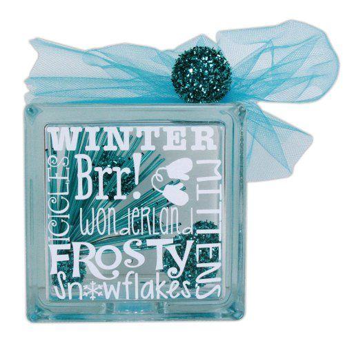 Frosty Glass Block