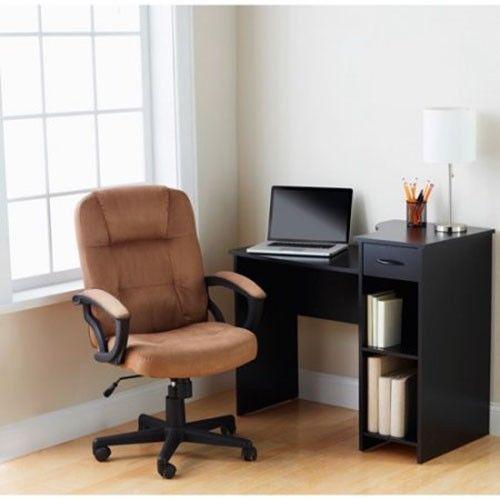 Student Desk Home Office Dorm College Furniture Storage Black #StudentDesk