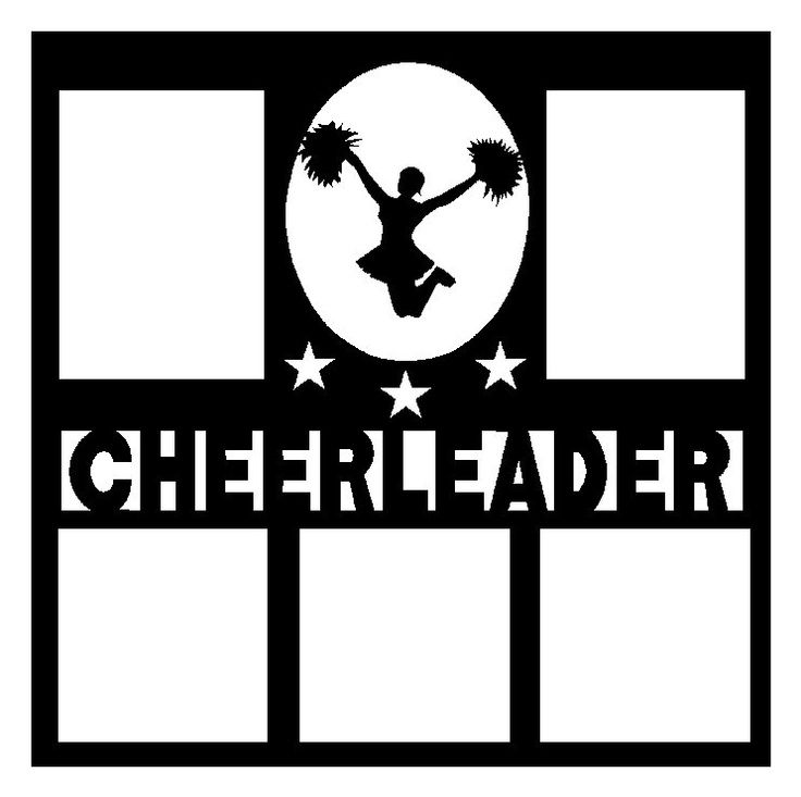 Printable Cheerleading Scrapbook Pages | clip art cheerleader free printable | Cheerleading Scrapbook Pages by ...