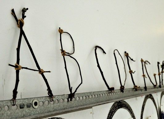 Make Your Own Stick Alphabet | Carle Museum