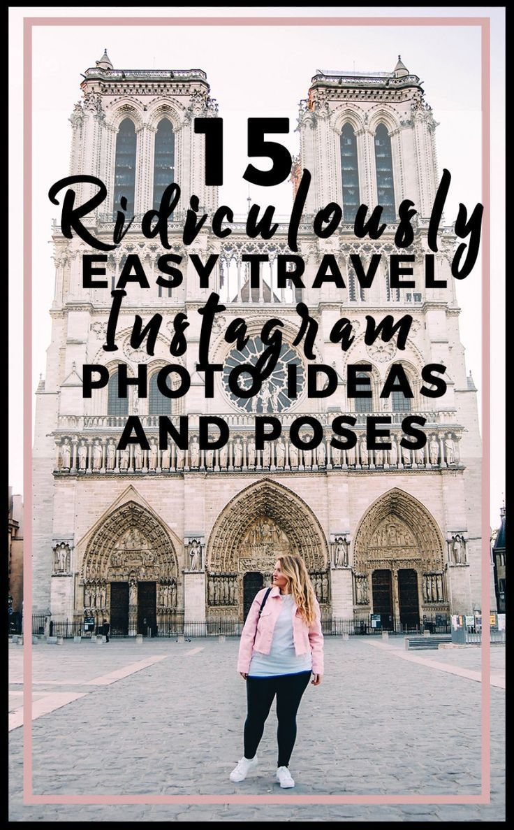 15 ridiculously easy travel Instagram photo ideas and poses for your next picture! Instagram is everyone's favorite photo app but, it's also my most cherished tool to drive traffic to my blog, make money, and make real connections. I attended a travel blog conference recently and two things were discussed: social media is important now more than ever and so are the messages that you post. Instagram is …