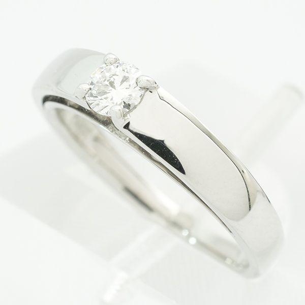 プラチナダイヤリング ラウンドカットデザイン ダイヤ:0.20ct