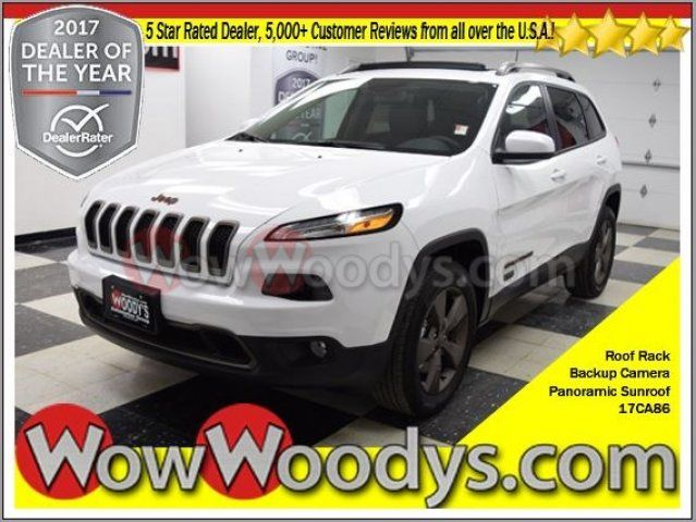 2017 Jeep Cherokee 75th Anniversary Edition 4X4 3.2L V6 Panoramic Sunroof Backup Camera Roof Rack