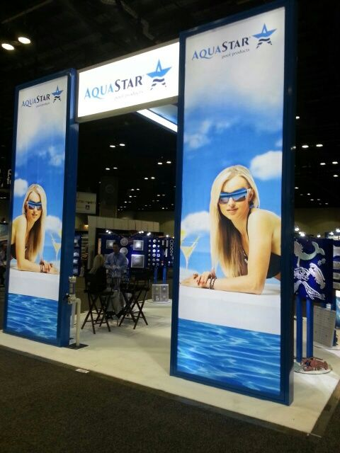 24 best images about 20x20 trade show rental booths live for Pool and spa show usa