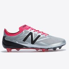 New Balance Furon 3.0 Limited Edition Firm Ground Football Boots - Silver/Pink