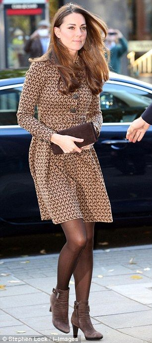 Catherine, Duchess of Cambridge arrives for a visit to the Only Connect and ex-offenders projects on November 19, 2013 in London, England.