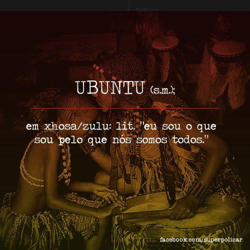 filosofia africana originária dos povos banto. http://on.fb.me/OZ0oeE Mais