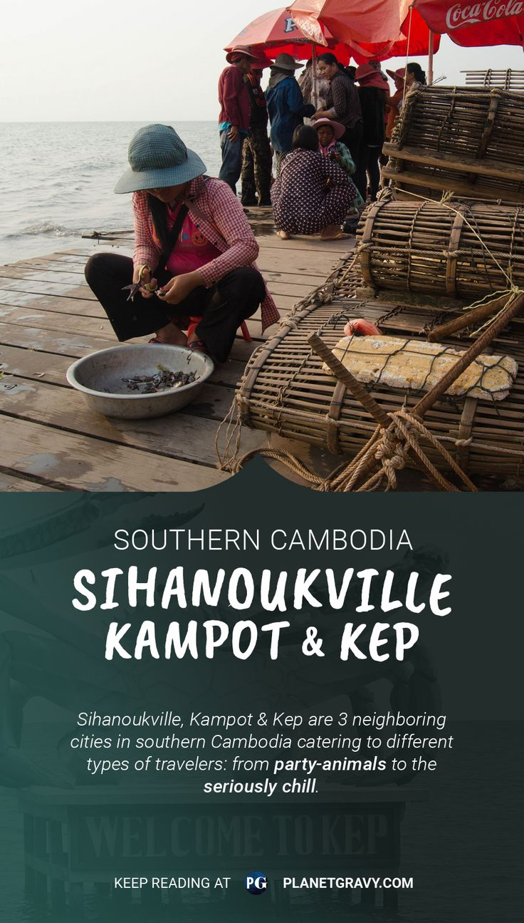 Planning to visit the south of Cambodia? Good call! Check the best travel info on Sihanoukville, Kampot and Kep . We're laying it down, scams and all! Read it in the blog: http://planetgravy.com/southern-cambodia/
