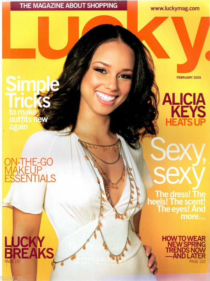 February 2005 cover with Alicia Keys