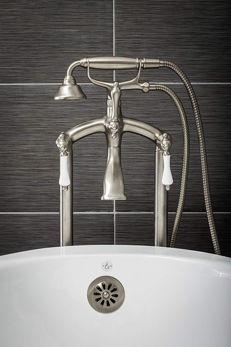 Park Art|My WordPress Blog_How To Install A Freestanding Tub Faucet On Concrete