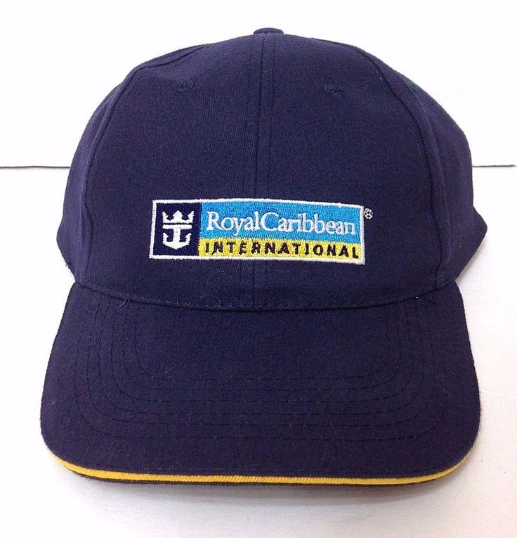 ROYAL CARIBBEAN INTERNATIONAL CRUISE SHIP HAT NavyBlue