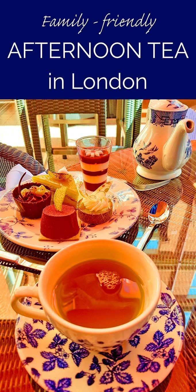 Where to find a truly family-friendly afternoon tea in London