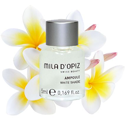 Mila d'Opiz Australia *NEW PRODUCT SPOTLIGHT* - White Shade Concentrate. A power house concentrate that helps treat the issues of irregular pigmentation.