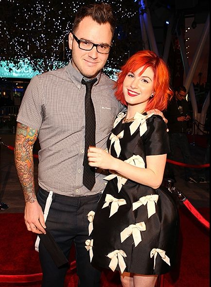 DATING: Paramore's Hayley Williams & New Found Glory's Chad Gilbert