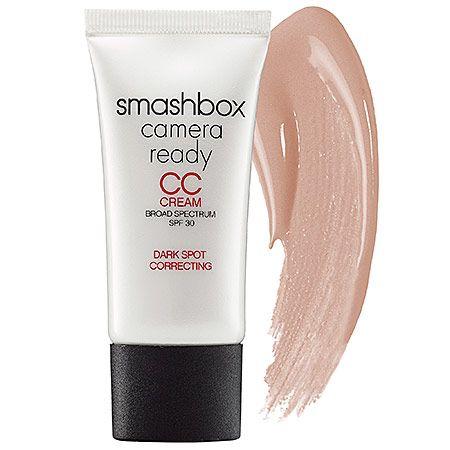 Mother's Day Gift Ideas: Smashbox Camera Ready CC Cream Broad Spectrum SPF 30 Dark Spot Correcting #sephora #mothersday
