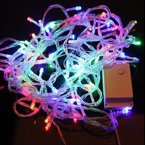 100 LED String Lights 10m 110v Multicolor Decoration Light for Christmas Fairy  #Unbranded