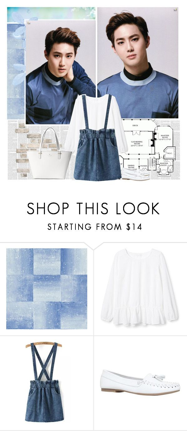 """Suho - Song Recommendation #1"" by julia-ngo ❤ liked on Polyvore featuring Miss KG, Kate Spade, songs, kpop, EXO and Suho"