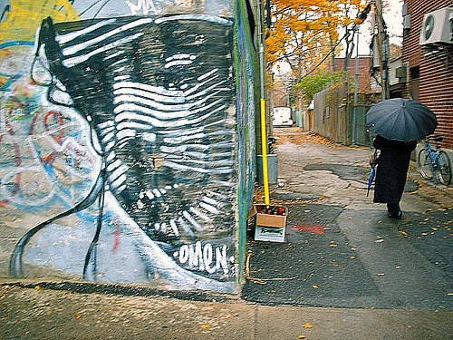 one of the last street pieces I did. #graffiti #montreal @omen514 #sadness #art