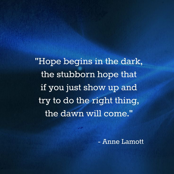 Persistence Motivational Quotes: A Beautiful Quote On Hope By Anne Lamott