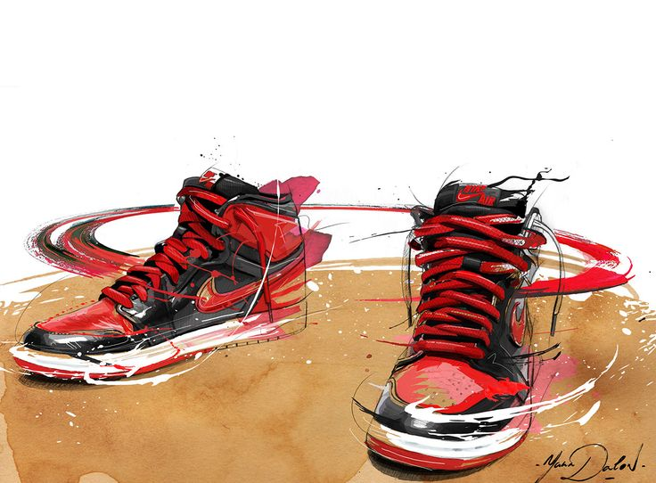 My Painting of The Jordan 1