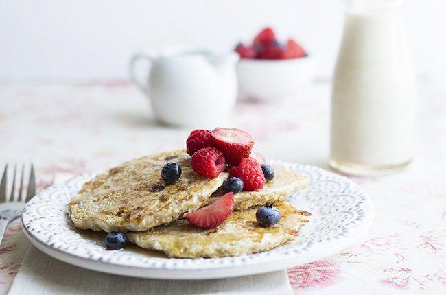 Recipe: Vanilla Cinnamon Protein Pancakes