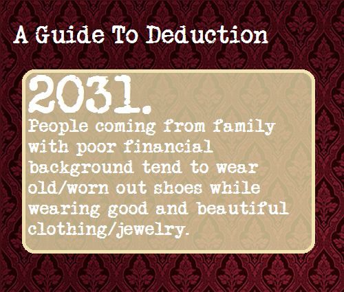 A Guide To Deduction #2031