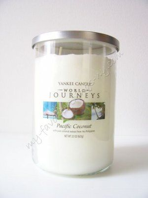 Pacific Coconut (22oz large tumbler) Yankee Candle World Journeys Collection