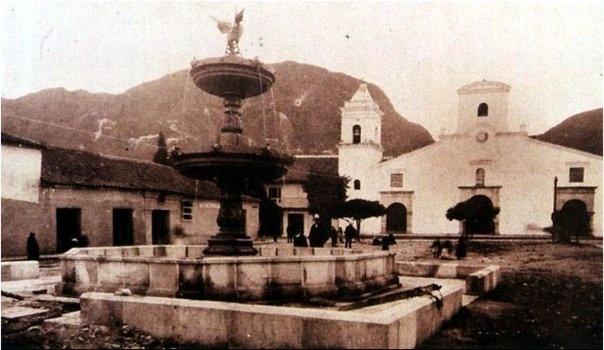 1895, Iglesia de las Nieves. Carrera 7 con Calle 20 - Bogotá, Colombia