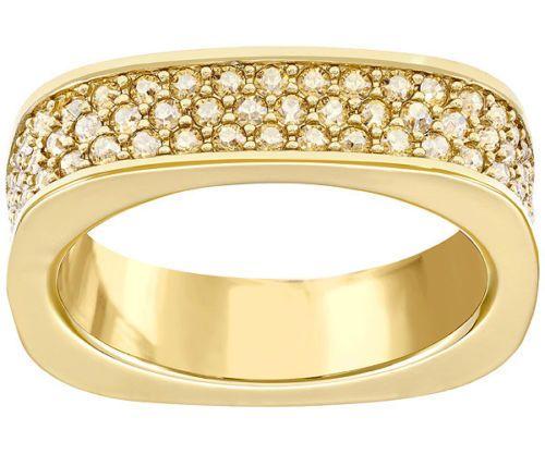 0a70982a7 SWARKOVSKI - VIO Ring - Rhodium Plated - Size UK P or 56 - BNIB - RRP  90.00! (eBay Link)