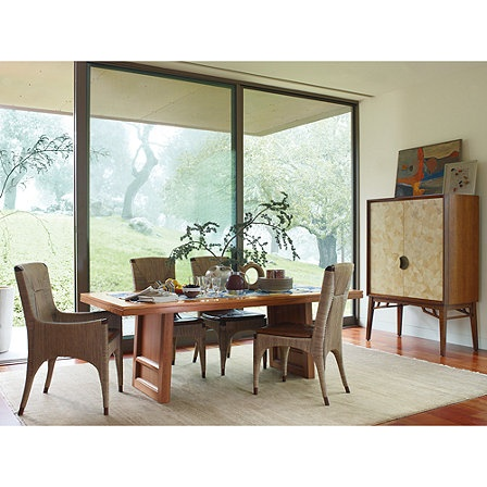 1000 Images About Dining Rooms By Mcguire Furniture On