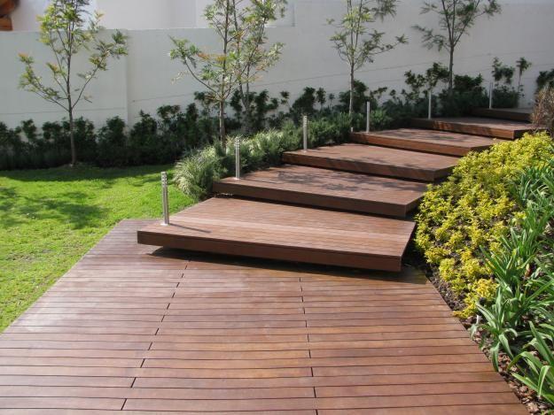 Instale un deck en el jardín - La Web de Paraná
