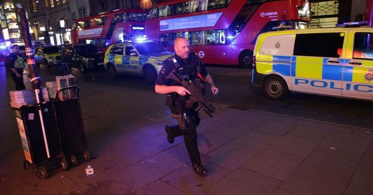 #MONSTASQUADD Oxford Circus Station in London Is Evacuated Amid Panic