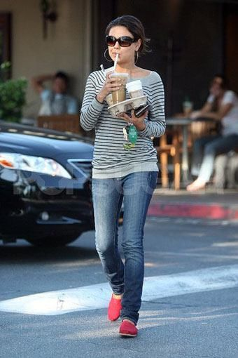 Toms shoes celebrity style dresses