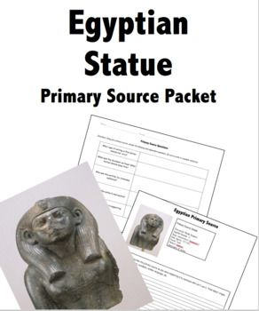 Engage your students with the skills of analysis with original historical primary sources/artifacts while teaching Egyptian history. This bundle includes:-a primary source questions worksheet-a high-resolution photo of the artifact & detailed description-descriptive language written activity based on the primary source