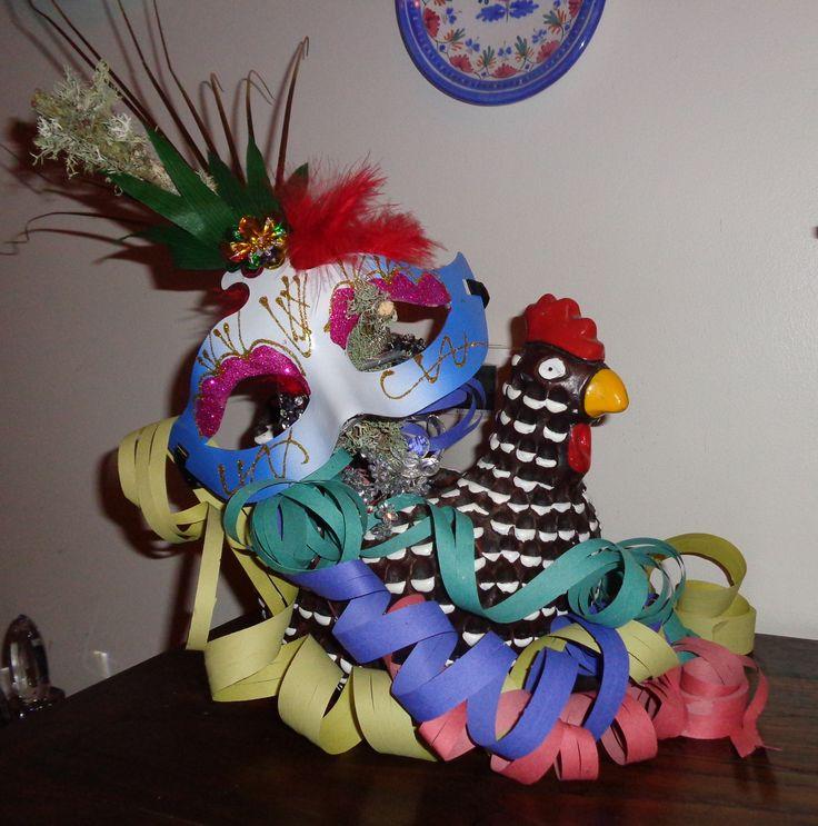 Galinha caipira carnavalesca 2014