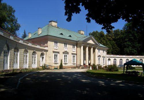 Białaczów, Małachowski's Palace 1797-1800,Jakub Kubicki