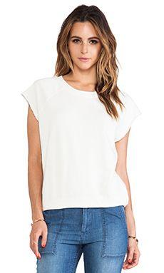Ever Open Neck Sweatshirt In Vintage White WAS $98.48 NOW $52.60 http://www.richgurl.com/linkout/2086026