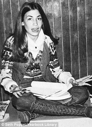 Julie Tauber McMahon pictured in 1977