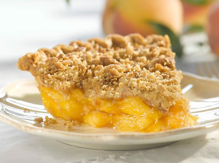 Peach crumble slab pie is a prime example of a recipe which serves as ideal comfort food and also includes some nutritious value into the mix. Description from miscellanynews.org. I searched for this on bing.com/images